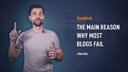 The main reason why most blogs fail