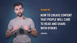 How to create content that people will care to read and share with others